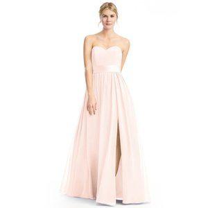 Azazie Bridesmaid Dress - Pearl Pink - size 8